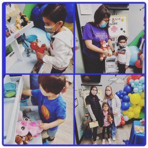 Nurse Working With Children